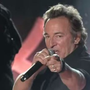 At Halftime, Springsteen Summons Rock's RedemptivePower